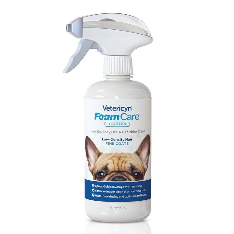 Vetericyn FoamCare Shampoo for Pet with Fine Coats (16 fl oz)