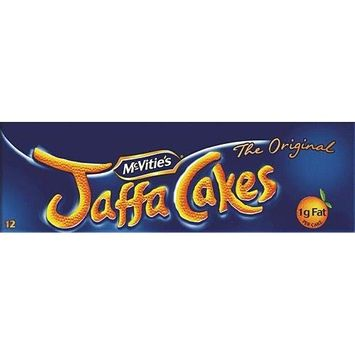 McVities Jaffa Cakes 80 Cakes (8 Box)