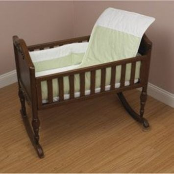 Sage Pure Baby Cradle Bedding size: 18inch x 36inch