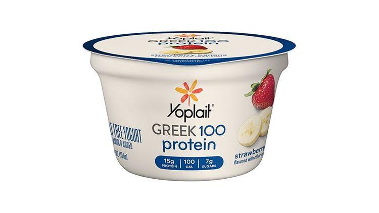 Yoplait® Gluten Free Greek 100 Protein Yogurt Single Serve Cup Strawberry Banana 5.3 oz