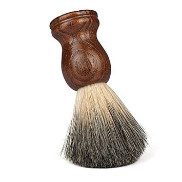 Men's Shaving Brushes, Bestpriceam 100% Pure Badger Shaving Brush-Wood handle- Engineered for the Best Shave of Your Life [Brown A]