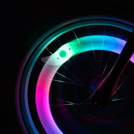 Spoke Brightz Color Morphing LED Bicycle Spoke Light, for 1 Wheel