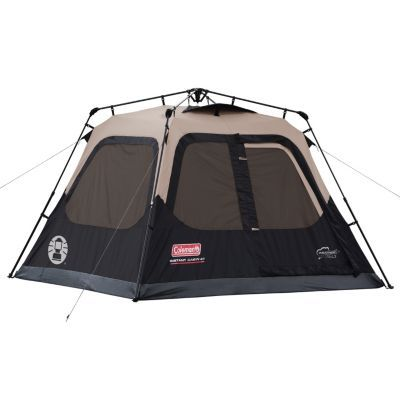 Coleman 4-Person Cabin Camping Tent with Instant Setup