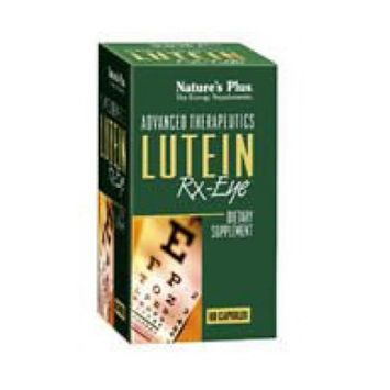 Nature's Plus Lutein Rx-eye, 60 Caps
