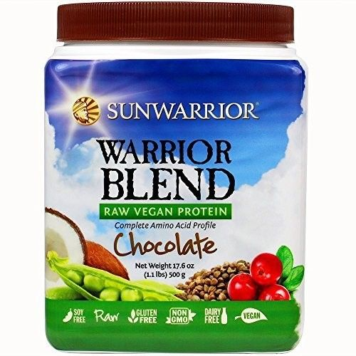 Sun Warrior Warrior Blend Powder CHOCOLATE [Standard Packaging]