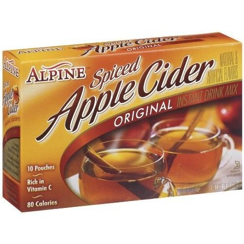 Alpine Spiced Cider Apple Flavor Drink Mix, 10-Count (Pack of 2)