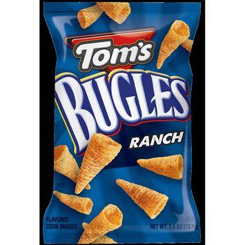 Toms Tom's Bugles Ranch Single Serve