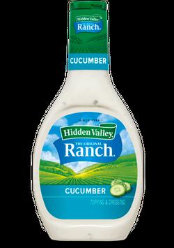 Hidden Valley® Cucumber Ranch Salad Dressing & Topping, Gluten Free