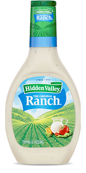 Hidden Valley® The Original Ranch Salad Dressing & Topping, Gluten Free - 8 Ounce