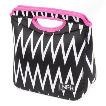 L.N.C.H. Zaza Tote Lunch Bag (Black)