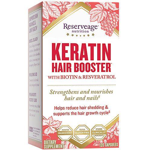 Reserveage Organics Keratin Hair Booster Reserveage 120 Caps