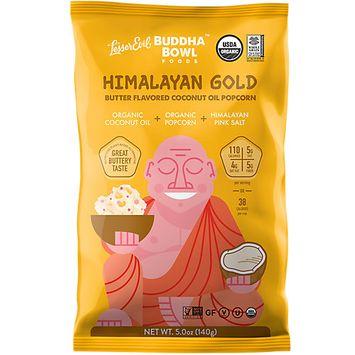 Lesser Evil Buddha Bowl Himalayan Gold Organic Popcorn