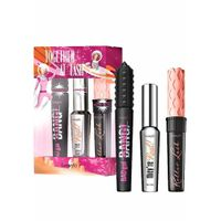 Benefit Cosmetics Mascara 3 Piece Full Size Set $72 Value They're Real Bad Girl Bang Roller Lash Set Together At Last