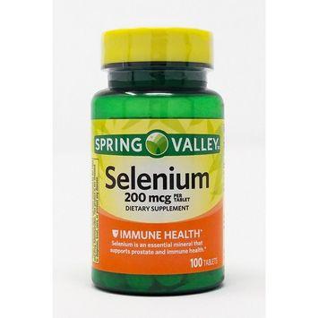 Selenium 200 Mcg, 100 Tablets. Plus Free Bonus 1 Mini Pill Container.