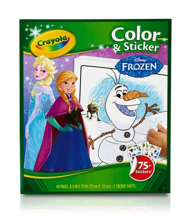 Crayola Color and Sticker Book - Frozen