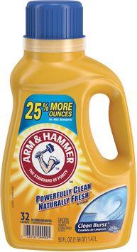 ARM & HAMMER™ Liquid Laundry Detergent, Clean Burst
