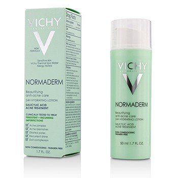 Vichy Laboratoires Normaderm Beautifying Anti Acne Care 24 H Hydrating Acne Treatment / LOTION