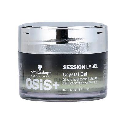 OSiS+ SESSION LABEL Crystal Gel 65 mL