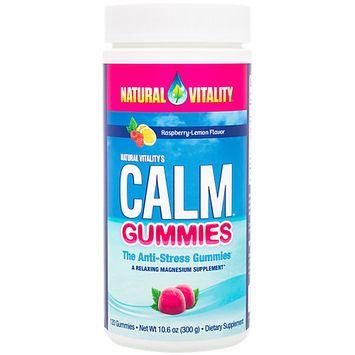 Natural Vitality Natural Calm Gummies