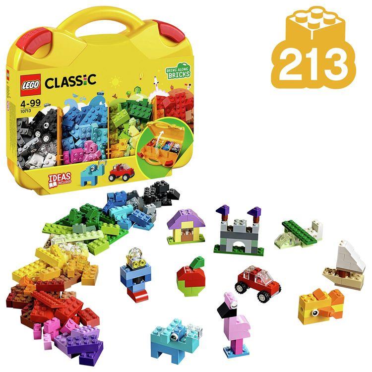 Lego Classic Idea Parts W/ Storage Case 10713 Block Building Toy