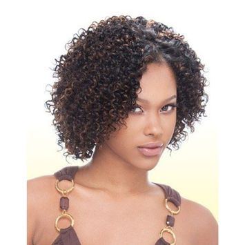 MilkyWay JERRY CURL 3PCS 100% Human Hair Weave Extension #1B/27
