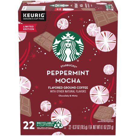 Starbucks Peppermint Mocha 22ct K-Cup