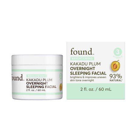 Hatchbeauty Products FOUND BRIGHTENING Kakadu Plum Overnight Sleeping Facial, 2 fl oz