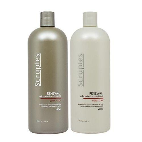 "Scruples Renewal Color Retention Shampoo & Conditioner 33.8oz Duo""Set"""