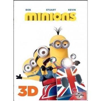 Alliance Entertainment Llc Minions (blu-ray 3d) (3 Disc)