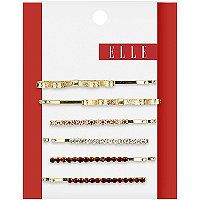 Elle Assorted Gold Bobby Pins