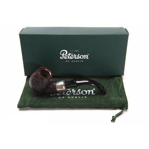 Peterson Standard Rustic 317 Tobacco Pipe PLIP
