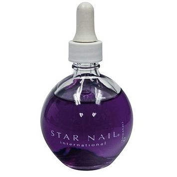 Star Nail 2.5 oz. Aromatherapy Scented Cuticle Oil - Cranberry