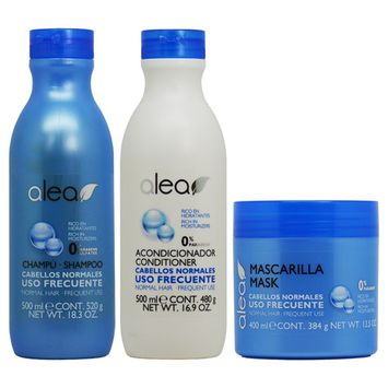 Alea Normal Hair with Rich in Moisturizers Shampoo + Conditioner + Mask
