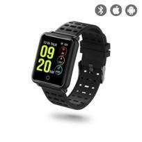 Montre de Sport connectée noir compatible iOs et Android