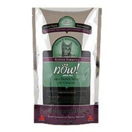 Now! Grain Free Turkey with Duck Formula Dry Kitten Food, 8-Pound Bag