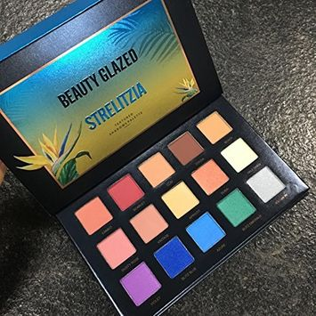 Beauty Glazed 15 Color Eyeshadow Palette Makeup,Matte Eye Shadow Palette Waterproof Powder Natural Pigmented Smokey Professional Cosmetic