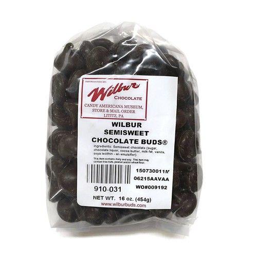 Wilbur Buds Semisweet Dark Chocolate Buds, 16 Oz. Bag