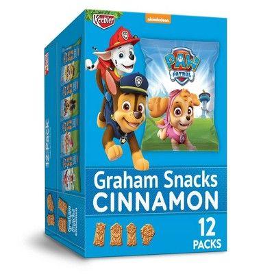 Keebler Paw Patrol Cinnamon Graham Crackers