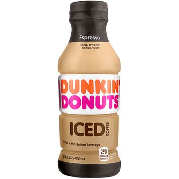 Dunkin' Donuts® Espresso Iced Coffee