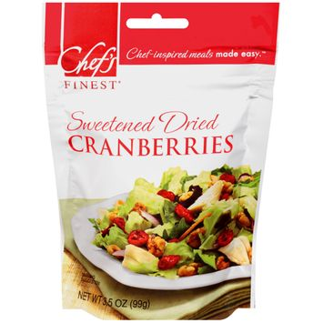 chef's finest® sweetened dried cranberries