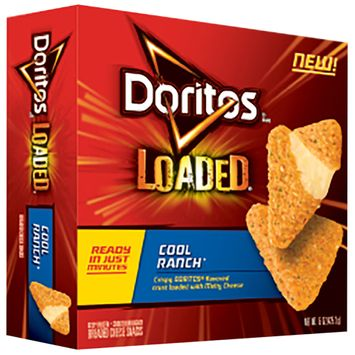 DORITOS® Loaded Cool Ranch Breaded Cheese Snacks