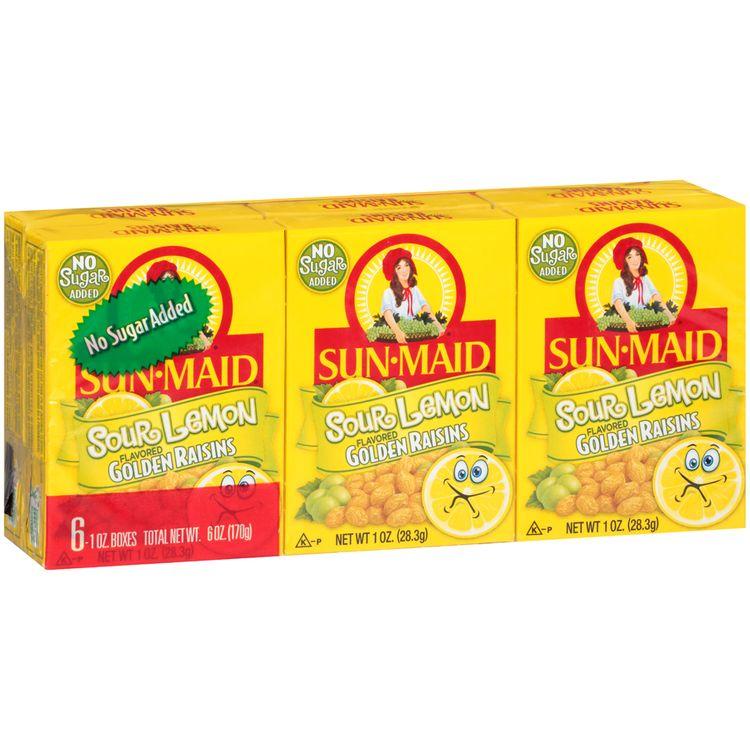 Sun-Maid® Sour Lemon Flavored Golden Raisins