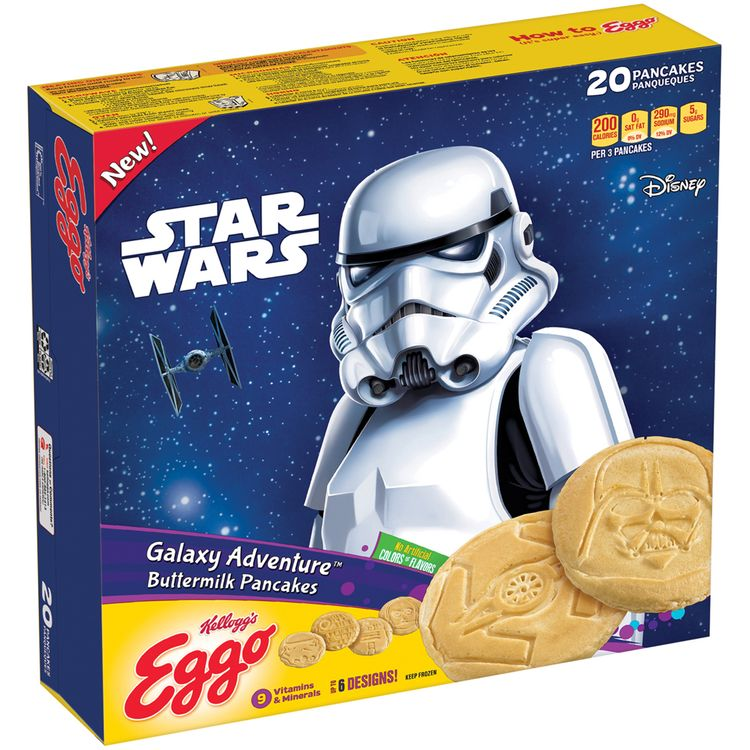 Kellogg's® Eggo® Galaxy Adventure™ Buttermilk Pancakes 20 ct Box