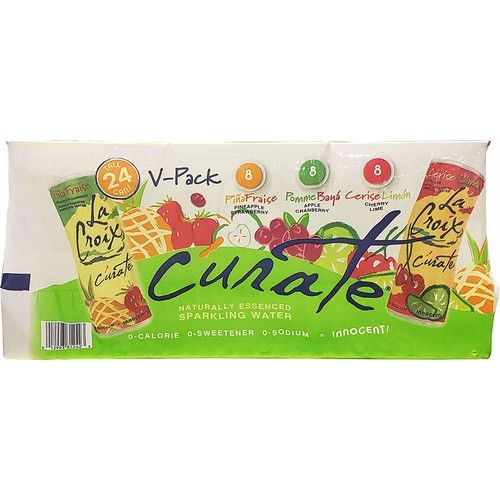 La Croix Curate Variety Pack of Sparkling Water 24 Cans 12 Oz Net Wt 288 Fl Oz, 288 fl. oz.