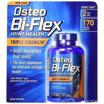 Osteo Bi-Flex Triple Strength Joint Health Glucosamine Chondroitin 170ct