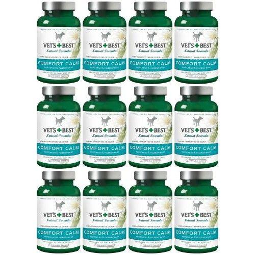 Vet's Best Comfort Calm Chewable Tabs 360ct (12 x 30ct)
