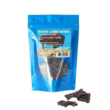 Great Dog Bison Liver Bites 5.0 oz. Bag (Sourced & Made in USA)