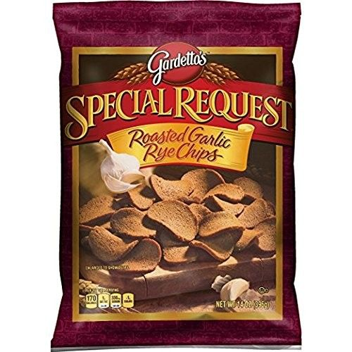 Gardetto's Special Request Roasted Garlic Rye Chips, 14 Ounce (14 Ounce - 3 Count)