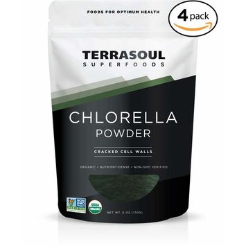 Terrasoul Superfoods Organic Chlorella Powder (Cracked Cell Walls), 24 Ounces - Sourced from Taiwan