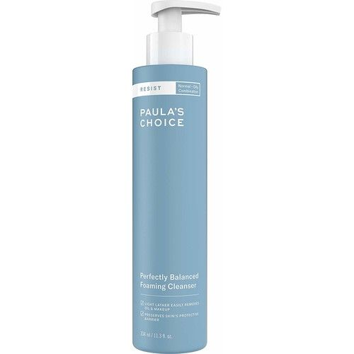 Paula's Choice RESIST Perfectly Balanced Foaming Cleanser | Hyaluronic Acid & Aloe | Anti-Aging Face Wash | Large Pores & Oily Skin | 11.3 Ounce